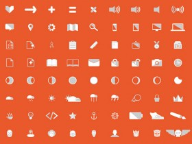 Angular PSD icon set