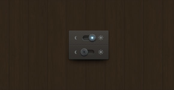 Night/day free PSD switch