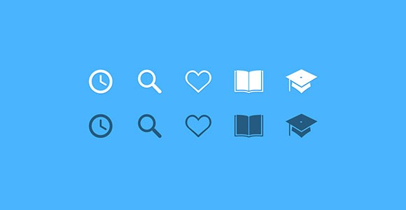 Educate Yoself - Education PSD icons