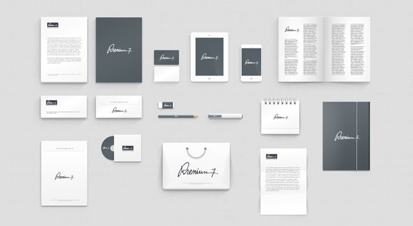 Free Psd Corporate Identity Mockup Freebiesbug