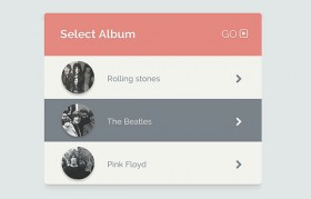 Select album CSS snippet