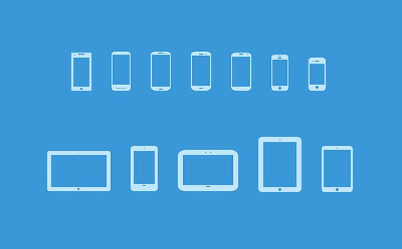 Mobile Devices Icons V3 PSD