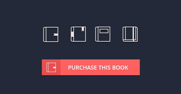 4 books PSD icons