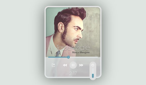 Futuristic Music Player