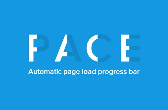 Pace.js - Progress bars for websites