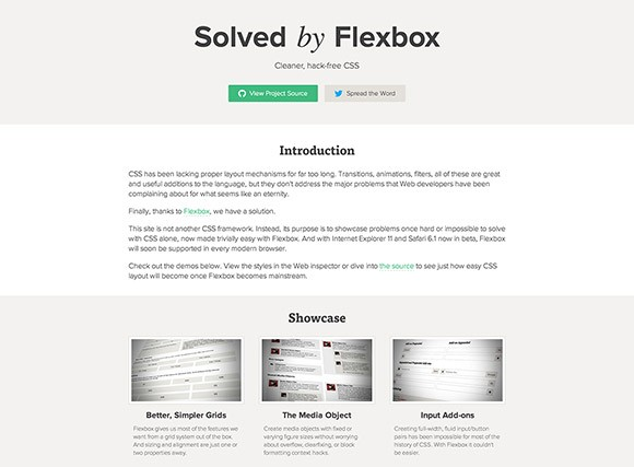 Solved by Flexbox - Fix common CSS problems