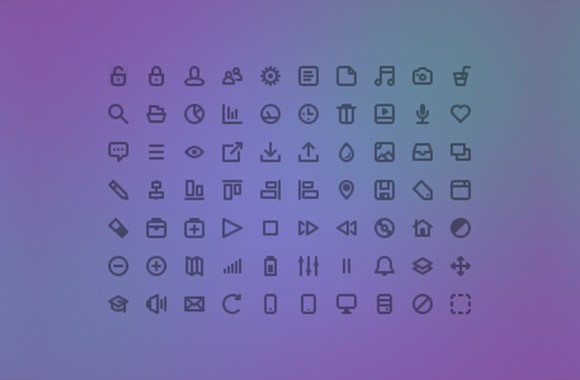 Freecons - 70 free icons