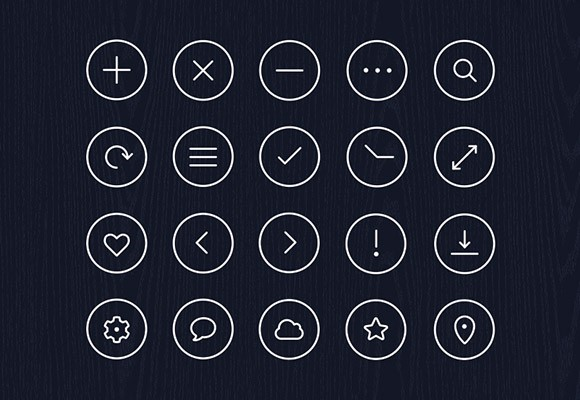 Free icon pack - Volume 1