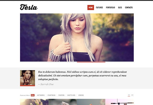 Tesla - WordPress theme giveaway