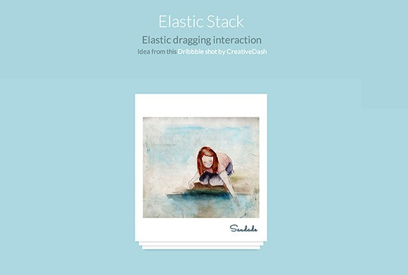 ElastiStack - JS dragging interaction
