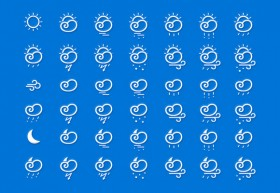 42 free weather icons
