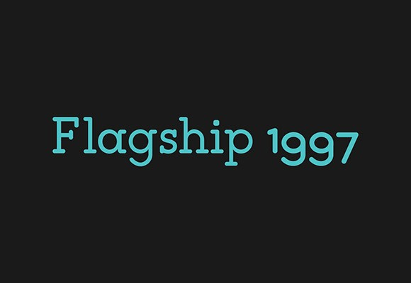 Flagship Slab Rounded free font