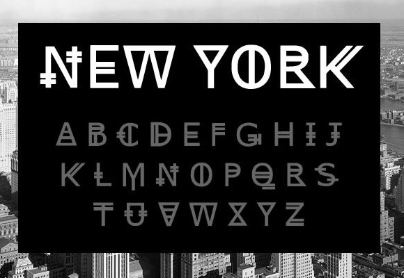 New York free font - Freebiesbug