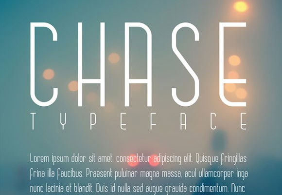 Chase free font