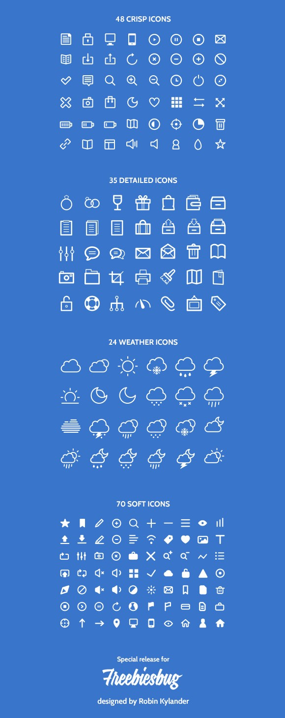177 icons by Robin Kylander