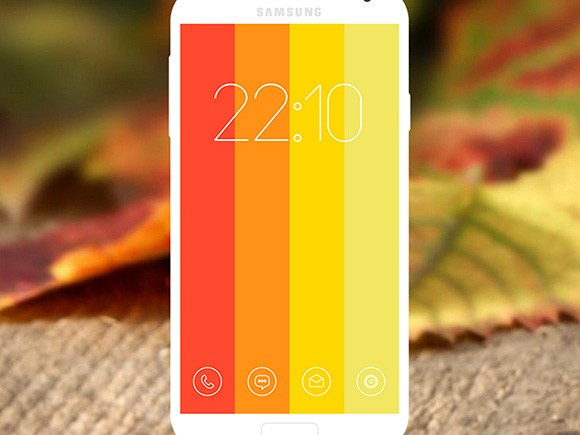 10 Android PSD lockscreens