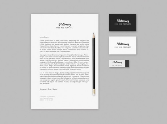 Branding / Stationary mockup template