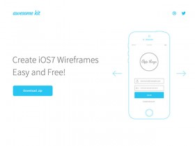 Awesome UX Kit - AI wireframe templates