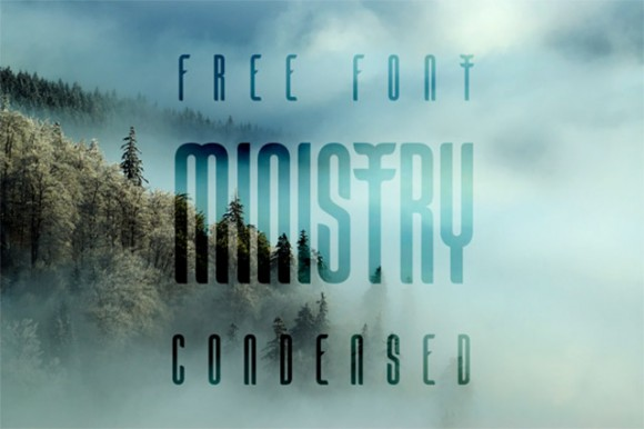 Ministry free font