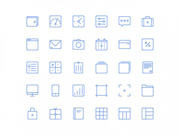 Sunday icons - 30 free AI icons