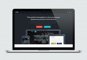 Woo - Landing page HTML template