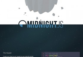 Midnight.js - jQuery plugin to switch headers