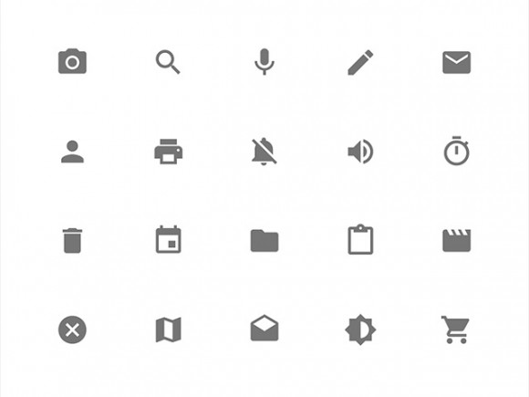 Google Material Design icons - SVG PNG CSS - Freebiesbug