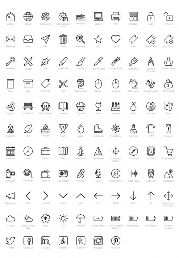 Icons8 PSD pack