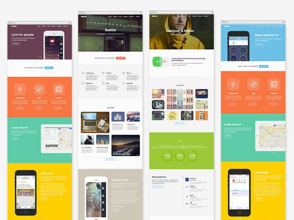 beetle - html5 template for designers
