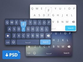iOS8 keyboard concepts