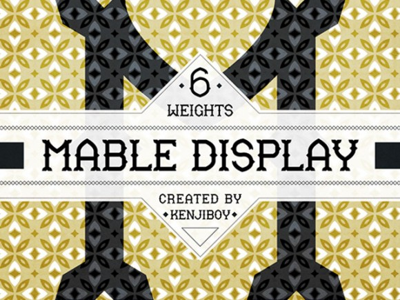 Mable Display free font