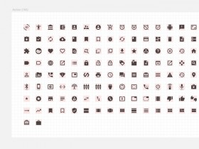 Material Design icon set for Sketch