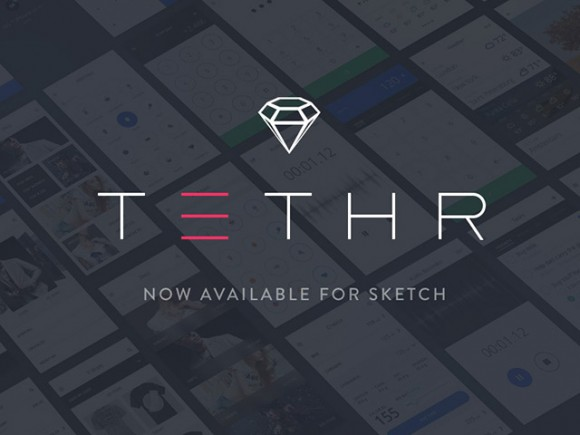 Tethr - Free UI kit for iOS