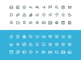 Vicons - 60 Sketch icons