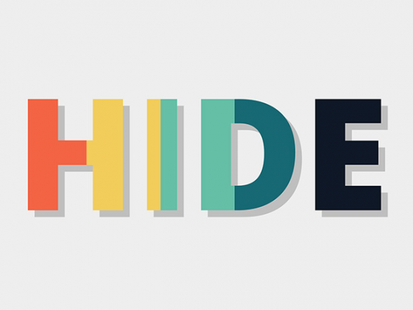 Animated text fills with CSS and SVG