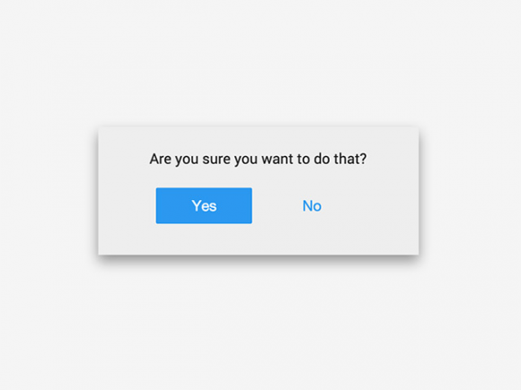 Flipside - Button to modal