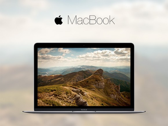 Macbook 2015 mockups