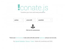 iconate.js - Trendy animations for icons