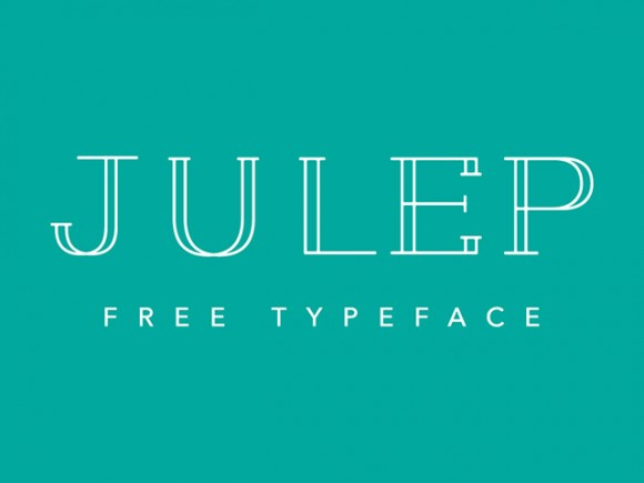 Julep free font - Vector files
