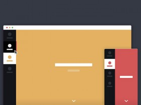Animated page transition with Ajax