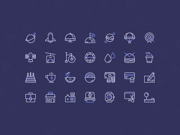 Birply icons set