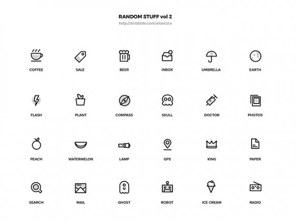 Random Stuff vol.2 – AI icons