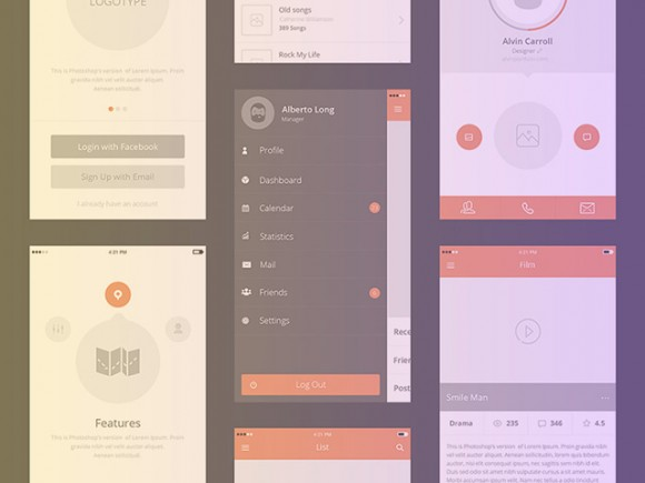 Awesome kit - Free UX prototyping kit