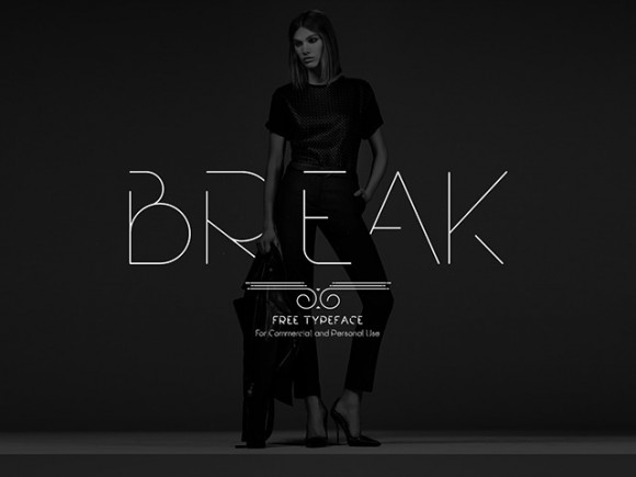 Break free font