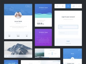 Free UI kit for Sketch