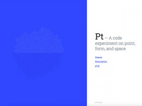 Pt - Create points, forms and spaces