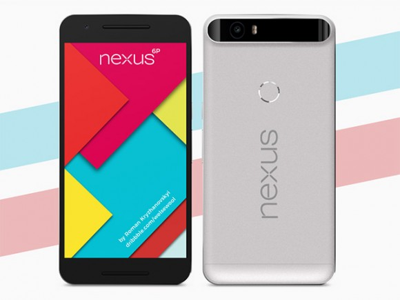 Nexus 6P mockup - Front/rear views