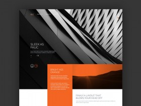 Trans - PSD website template