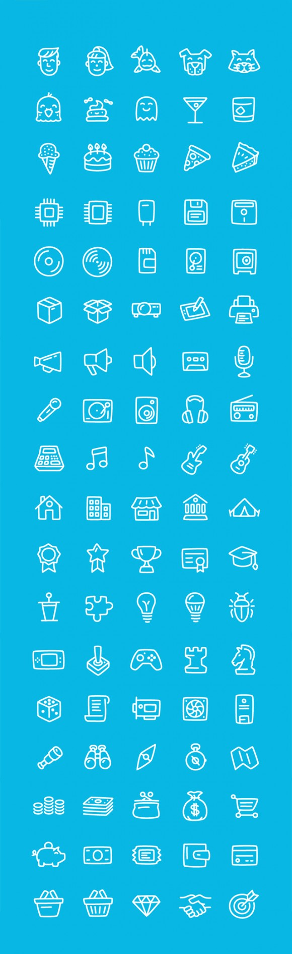 280 Office free Ai icons - Detailed image