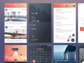 Phoenix UI kit - Vol 1 (Sketch + PSD)